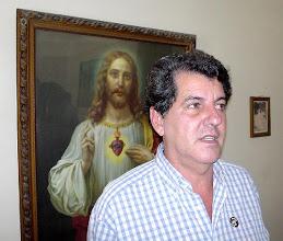 Photo: oswaldo paya. cuban dissident. Tracey Eaton photo.