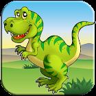 Aventura Dinosaurio - Gratis Juego por Niños icon