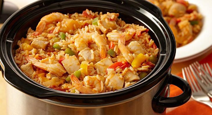 Slow Cooker Chicken Jambalaya Recipe