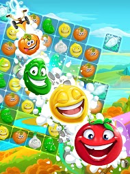 Funny Farm match 3 game APK screenshot thumbnail 20