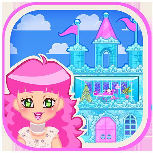 Ice Castle Princess Doll House