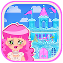 Ice Castle Princess Doll House icon