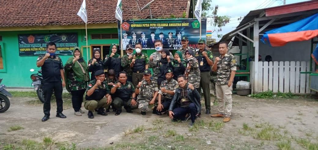 DPD HIPAKAD Provinsi Lampung Kunjungi Markas DPC HIPAKAD Pringsewu