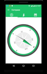 Qibla Compass: Salah & Hijri Screenshot