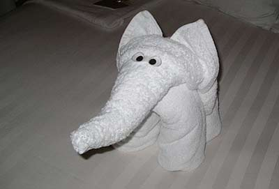 """St. Elmore G. Moore: """"One time, I made an elephant for a guest and she comes up, crying. She said, 'You don't know how that makes me feel.' """""""
