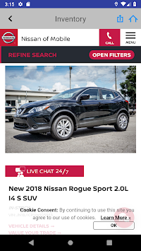 Nissan Of Mobile >> Download Nissan Of Mobile Apk Latest Version App For Android Devices