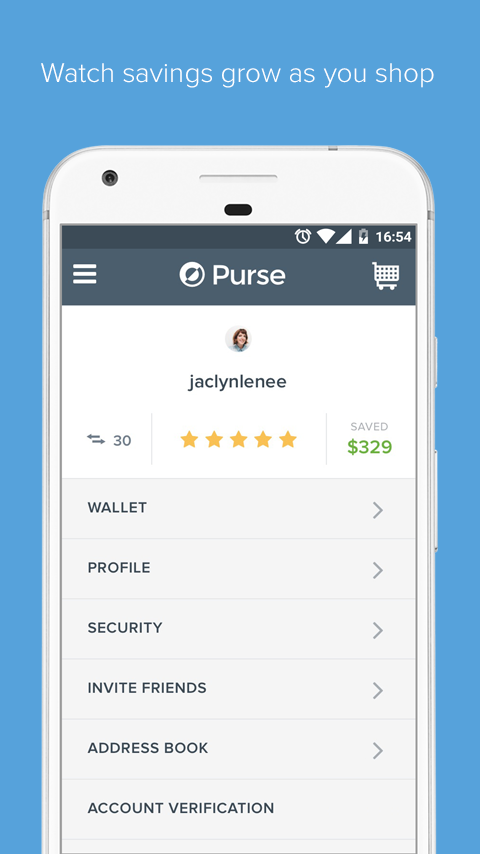 Purse - Bitcoin Shopping- screenshot