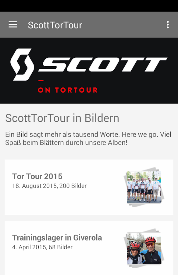 Scott on TorTour- screenshot