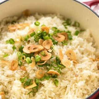 Garlic Butter Rice.