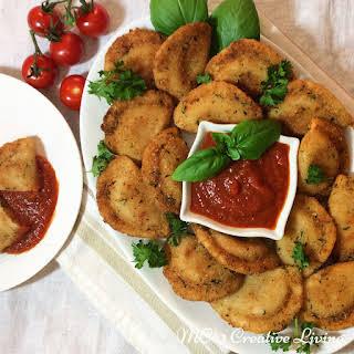 Crispy Fried Perogies.