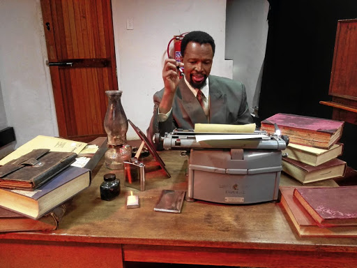 Drum beat: Sello Maake ka-Ncube says he has long been fascinated with Drum magazine writer Can Themba and is thrilled to be portraying him in yet another play, The House of Truth. Picture: SUPPLIED