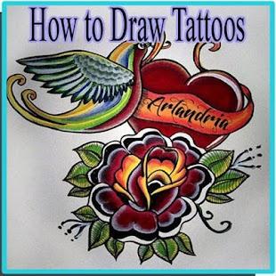 Jak kreslit tetování - náhled