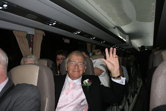 Photo: Father of the Bride has had a great day!