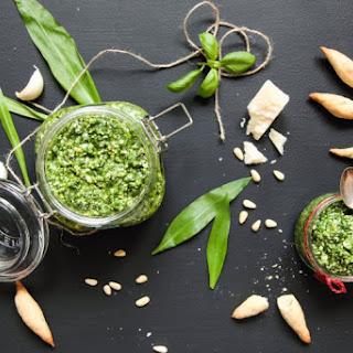 Delightful Wild Garlic Pesto.