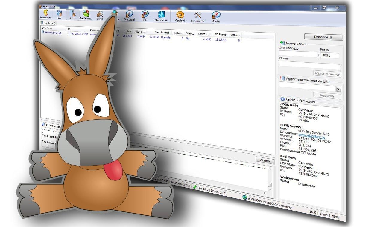 Come scaricare file sicuri con Emule: Forum Link ed2k 2016