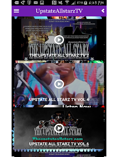 UpstateAllstarzRadio App- screenshot thumbnail