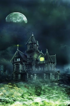 Haunted House Live Wallpaper By Wallpapers HD Poster