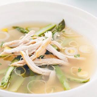 Weight Watchers Chicken & Fresh Asparagus Soup
