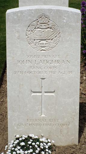 John Laughran (Loughran) grave