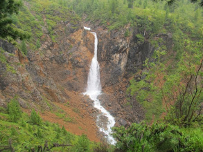 Photo: В верховьях Шумака. Водопад