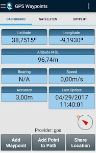 GPS Waypoints 2.11