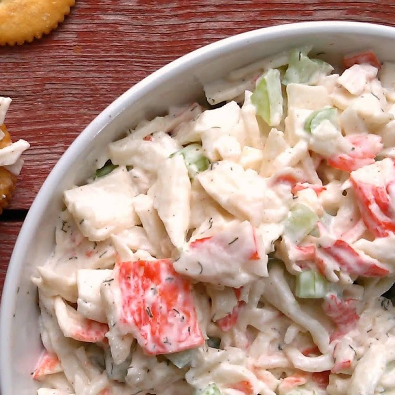Imitation Crab Salad Recipe With Vinegar
