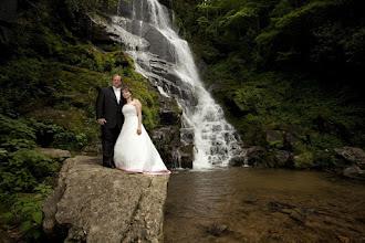 Photo: Eastatoe Waterfall Wedding with butterfly release - Rosman, NC 6/10  - Photo courtesy Sarah & Paul - http://PhotoDayBliss.com