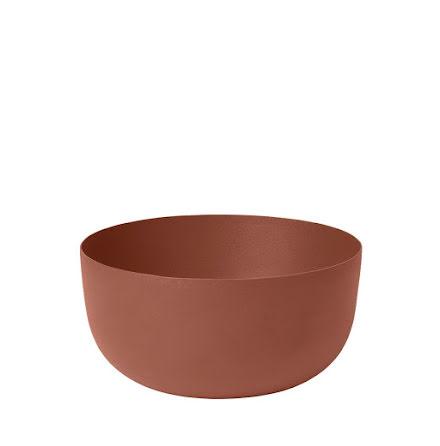 REO Skål, H 7,5 cm Ø 15 cm, Large, Rustic Brown