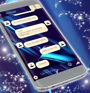 Témata zpráv SMS v HD - náhled