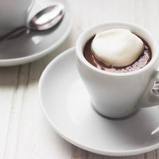 Irish Cream Chocolate Shots for Two.
