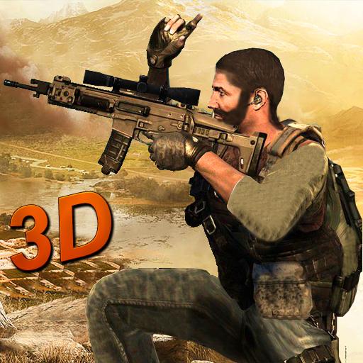 Commando Action Strike Frontline: 3D TPS Gun Shoot