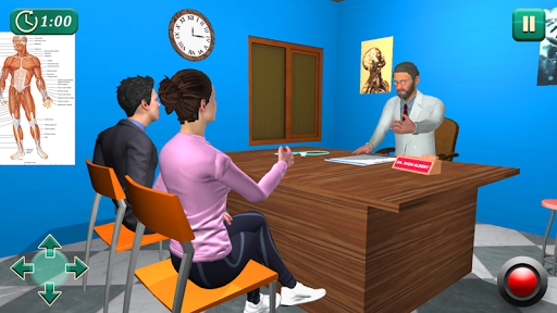 VIRTUAL FAMILY HOSPITAL: SURGERY SIMULATOR 1.4 screenshots 1