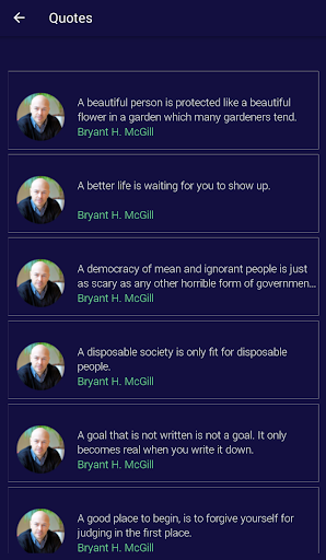 Bryant H. McGill Quotes 1.6 screenshots 2