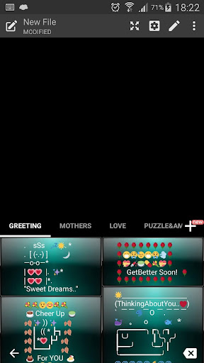 玩免費個人化APP|下載DuskGree Emoji キーボード app不用錢|硬是要APP