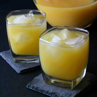 Crystallized Ginger Orange Juice Cocktail