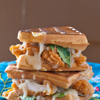 Chicken and Waffle Grilled Cheese