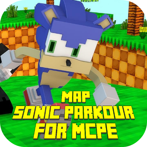 Map Sonic Parkour for MCPE
