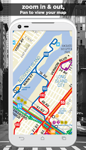 NYC Subway,Bus,Rail,Bike Maps screenshot 2