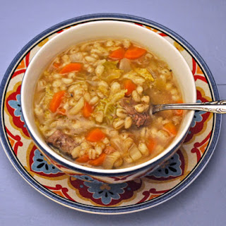 Beef & Vegetable Barley Soup Recipe