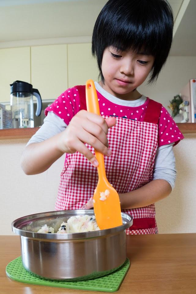 黒千石レシピ:黒千石大豆のおつまみポテト・作り方