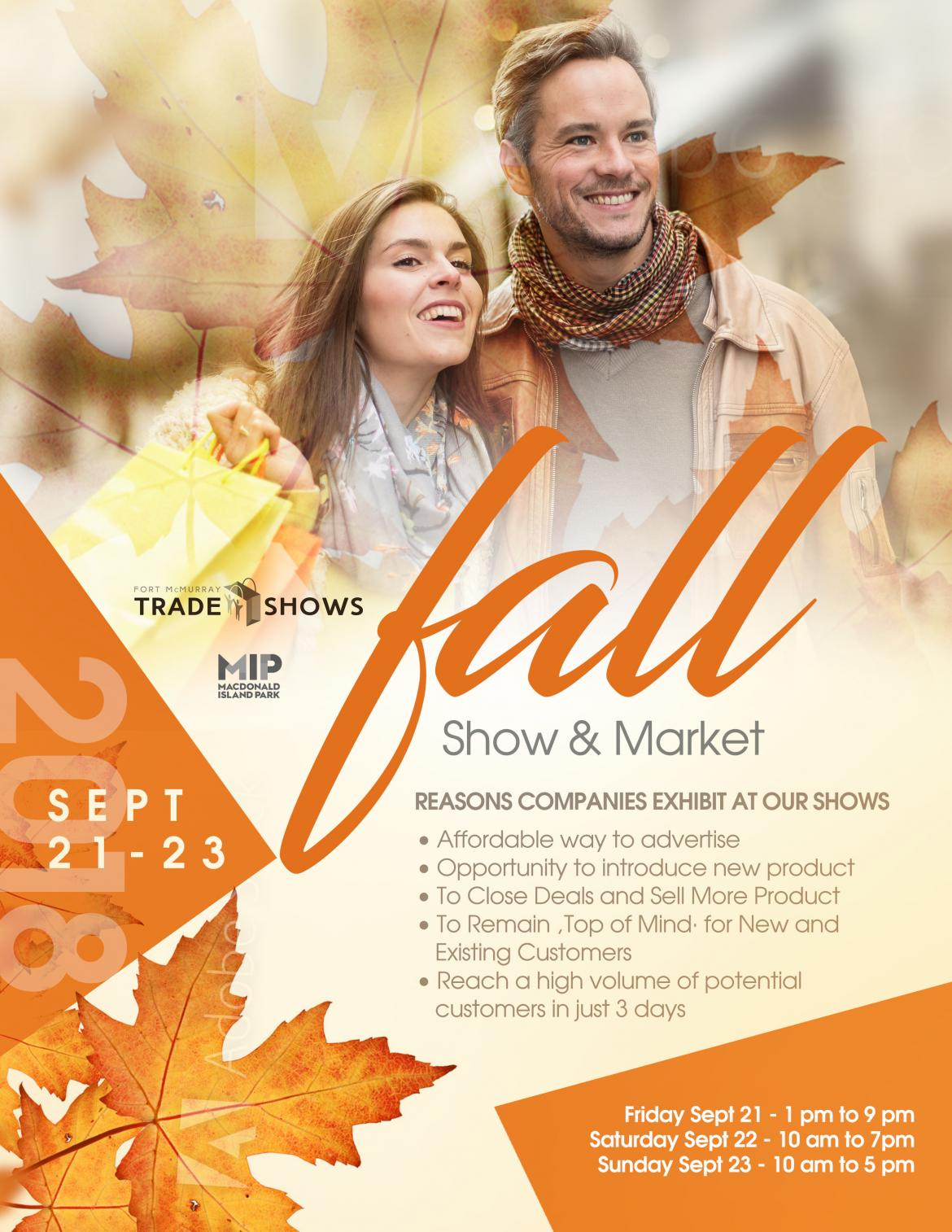 fall trade show and event 2018