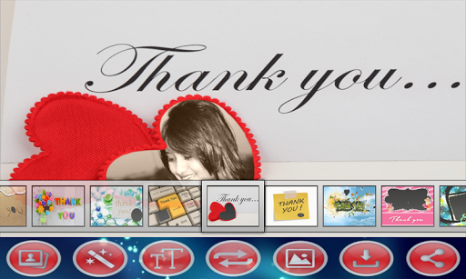 Thankyou Photo Frames
