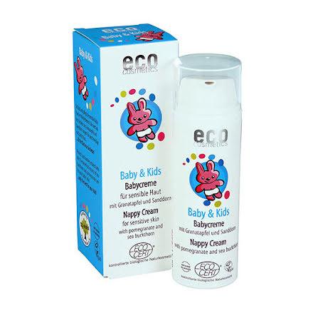 Eco Cosmetics Baby & Kids zinkkräm / blöjkräm, 50ml