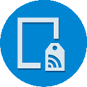 NFC tag reader/writer icon