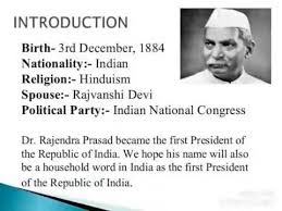 Essay on Rajendra Prasad in english