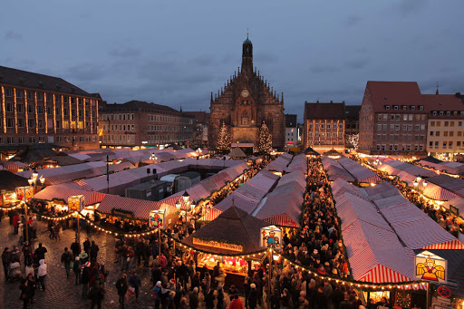 Viking-Freya-Nuremberg-Christmas2 - Nuremberg is well known for its Christmas Market, with Christmas decorations and local delicacies.