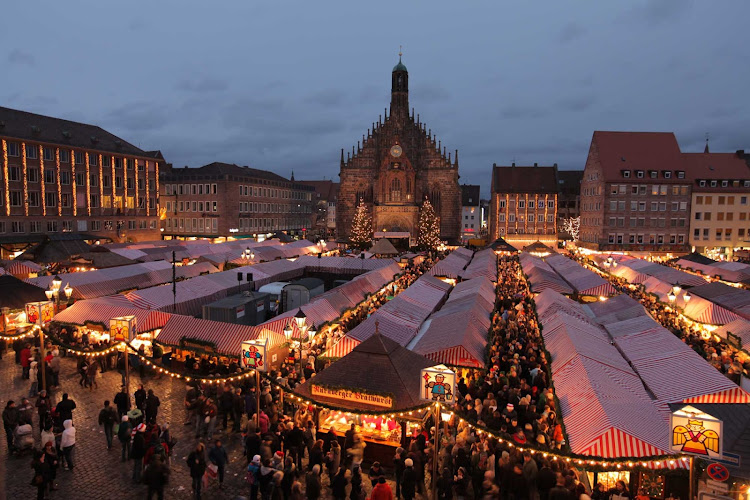 Nuremberg is well known for its Christmas Market, with Christmas decorations and local delicacies.