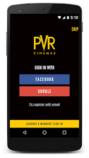 PVR Cinemas - Movie Tickets- screenshot thumbnail