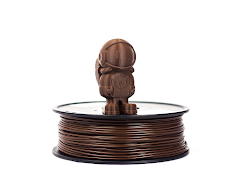 Brown MH Build Series PLA Filament - 2.85mm (1kg)