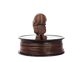 Brown MH Build Series PLA Filament - 3.00mm (1kg)